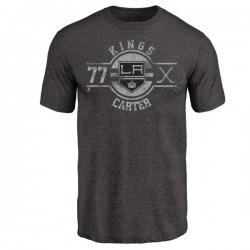 Youth Jeff Carter Los Angeles Kings Insignia Tri-Blend T-Shirt - Black